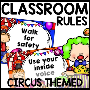 Classroom Rules (Circus Themed)