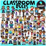 Classroom Rules Clip Art Bundle {Educlips Clipart}