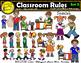 Classroom Rules Clipart Bundle Spanish Clips Bilingual Sta