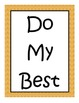 Classroom Rules - Colorful Borders for Any Theme