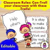 Classroom Rules:  Con-Troll your classrom with these Trolls!