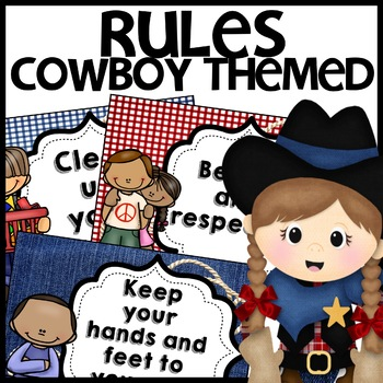 Classroom Rules (Cowboy Themed)