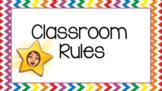Bitmoji Classroom Rules - Distance Learning & In School Learners