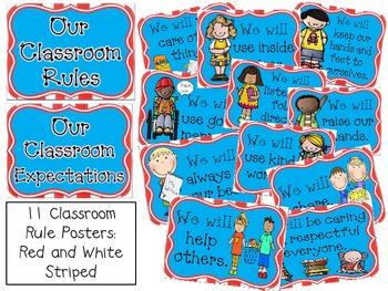 Classroom Rules - Wacky