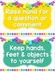 Classroom Rules ~ Editable!