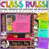 Classroom Rules Presentation | Classroom Management
