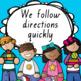 Classroom Rules - Editable & Queensland Fonts