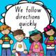 Classroom Rules - Editable & Tasmanian Fonts