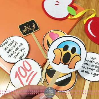 Classroom Rules Emoji Puppets for Back to School for Teens