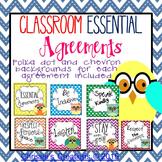 Classroom Rules  owl theme