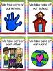 Bright, Colorful Classroom Rules for Preschool, Pre-K, and Kindergarten
