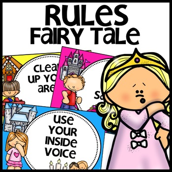 Classroom Rules | FAIRY TALE THEMED