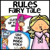 Classroom Rules | FAIRY TALE THEMED
