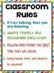 Classroom Rules (FREE)