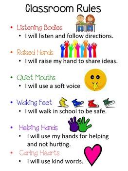 Classroom Rules FREEBIE!!!
