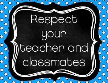 Classroom Rules {FREEBIE}