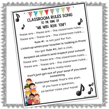 Classroom Rules Freebie