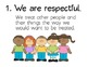 Classroom Rules Freebie Posters