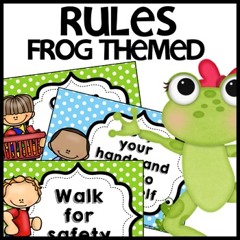 Classroom Rules (Frog Themed)