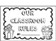 Classroom Rules Fun Activity with Spanish Version!