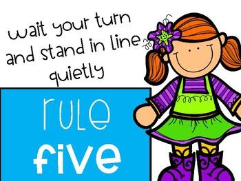 Classroom Rules- Generic