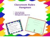 Classroom Rules Hangman Game