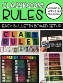 Classroom Rules (Interactive and Editable Template)