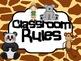 Classroom Decor {Jungle Jivin, Sassy Safari, Rockin' Rainf