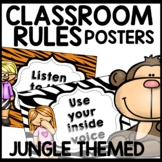 Classroom Rules (Jungle Themed)