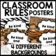 Classroom Rules (Jungle Themed)