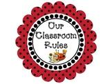 Editable Classroom Rules- Ladybug