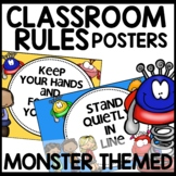 Monster Themed Classroom Decor Classroom Rules