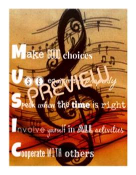 Classroom Rules (MUSIC)