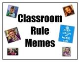 Classroom Rules- Memes