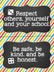 Classroom Rules Mini Bulletin Board Set