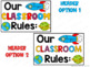 Classroom Rules - Monkey Theme