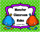 Classroom Rules {Monster}