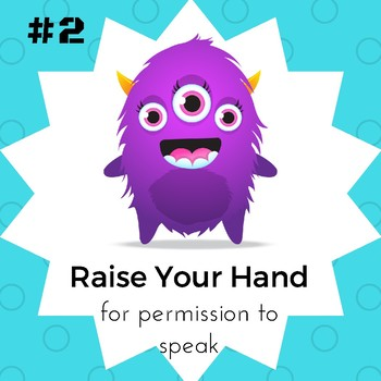 Classroom Rules (Monster Theme)