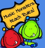 Classroom Rules   Music Monsters