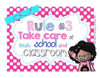 Classroom Rules Nautical Theme