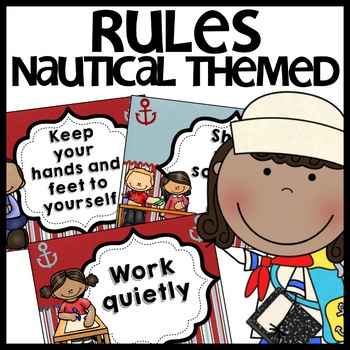 Classroom Rules (Nautical Themed)