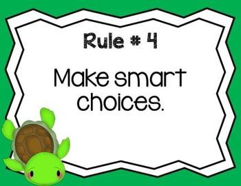 Classroom Rules Ocean Theme
