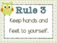 Classroom Rules {Owl Theme} Positive Behavior