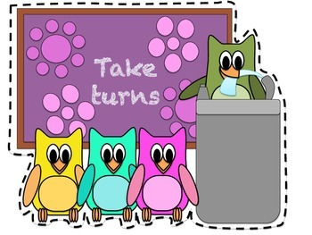 Classroom Rules Owl Themed