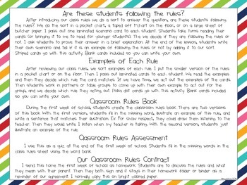 Classroom Rules Pack
