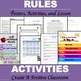 Classroom Rules Packet