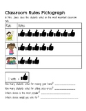 Classroom Rules Pictograph