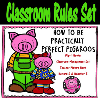 Classroom Rules Back to School Year Long Management Set