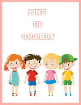 Classroom Rules (Pink Edition) Instant Download PDF; Preschool, Kindergarten