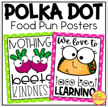Classroom Rules Display {Polka Dot Classroom Decor Theme}